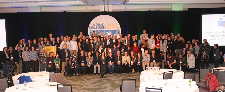 invasive arthropods summit - group picture
