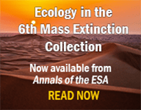 Ecology in the Sixth Mass Extinction ad