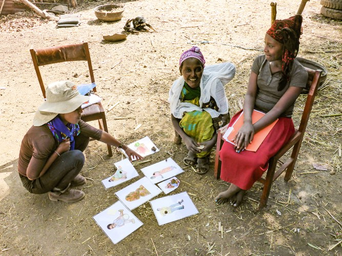 Parthenium community study in Ethiopia