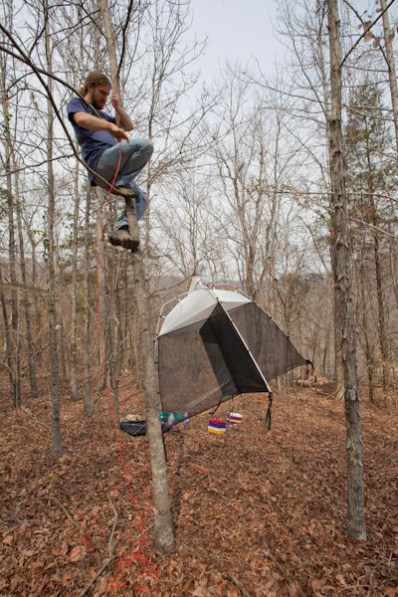 Michael Skvarla trap hanging