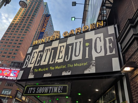 beetlejuice marquee
