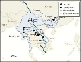 study region map