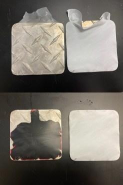 mosquito-feeding blood plates
