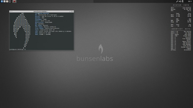 Release BunsenLabs 8.2 Hydrogen RC1