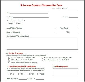 Academy comp form