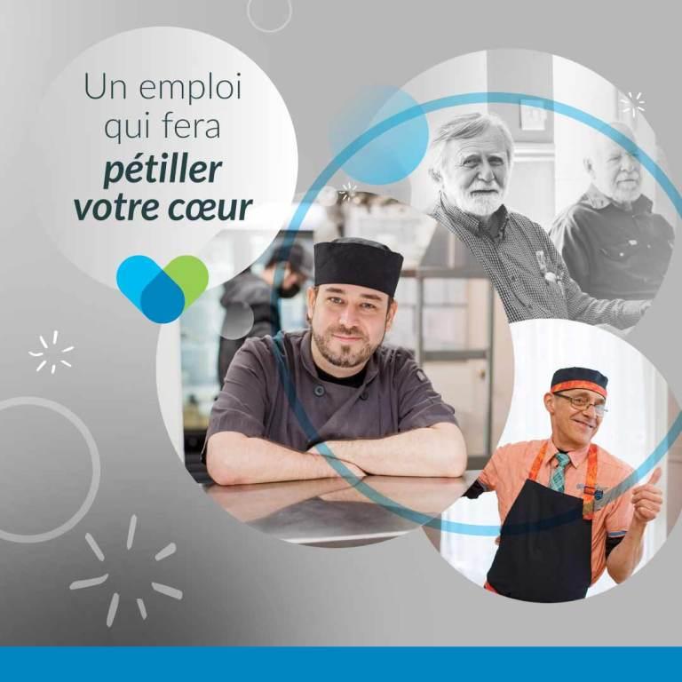 Offre d'emploi restaurant Resto-Entre : Sous-chef