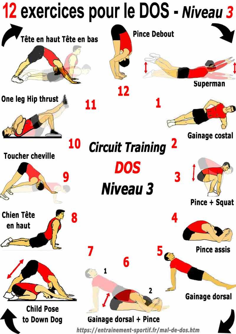 Exercices contre le mal de dos - Doctissimo