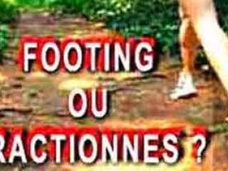 footing ou fractionnes pour maigrir en courant