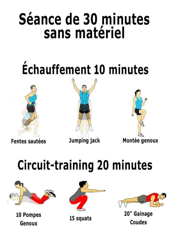 Marche Active Chez Soi - Entrainement cardio, fitness - YouTube