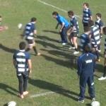 Exercice de rugby passes