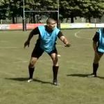 Exercice defense rugby