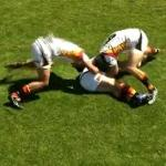 Exercice combat rugby sur ruck