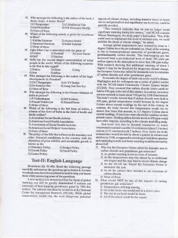 Where can I download Question Papers for Phase 1 of RBI