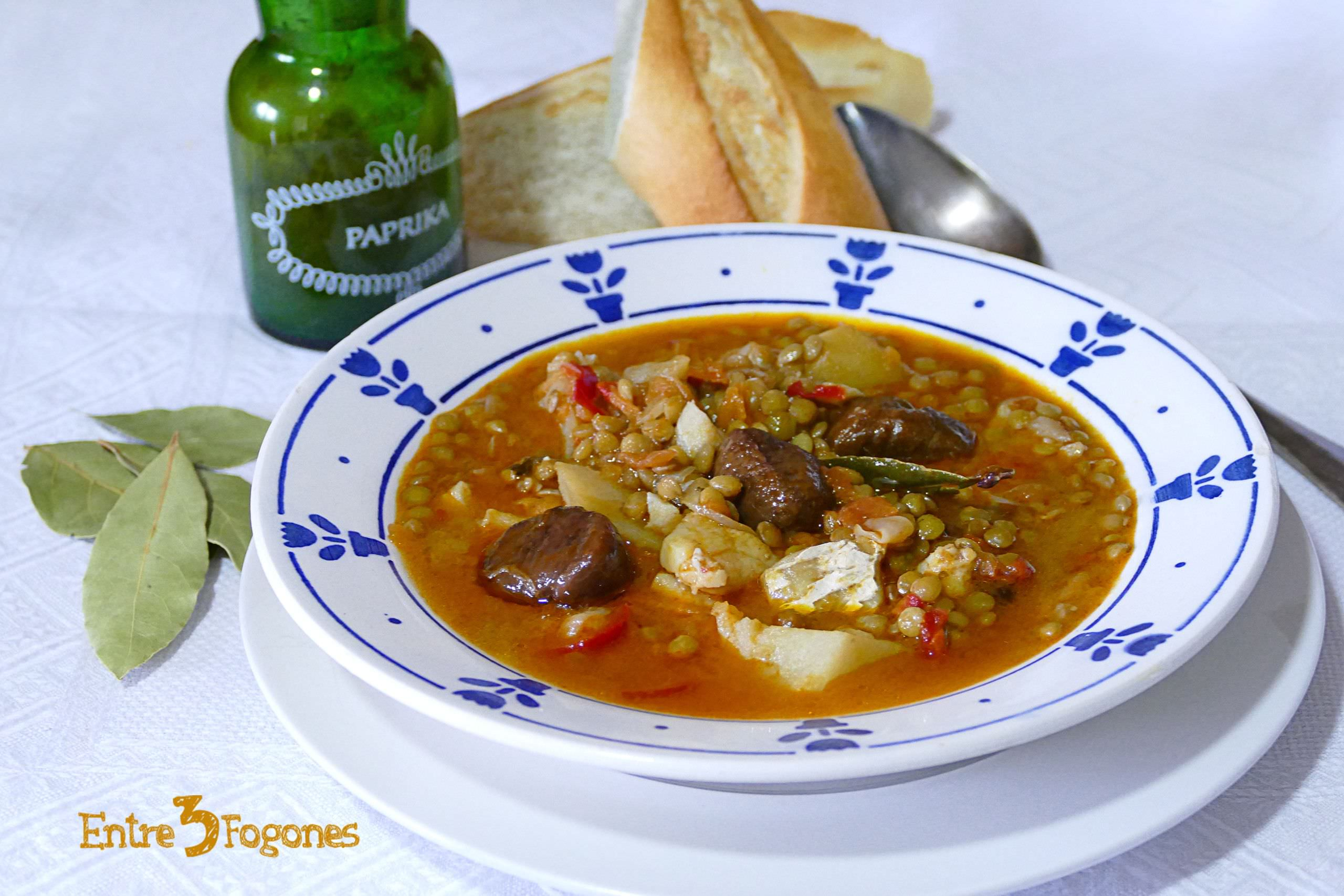 Photo of Lentejas con Bacalao con Magimix Cook Expert