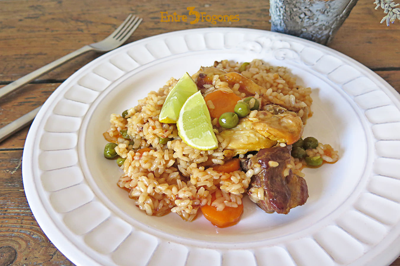 Photo of Arroz con Carne y Verduras con Thermomix