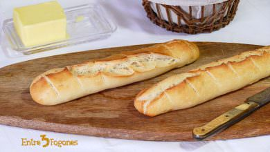Photo of Receta de Baguette o Pan Francés Crujiente
