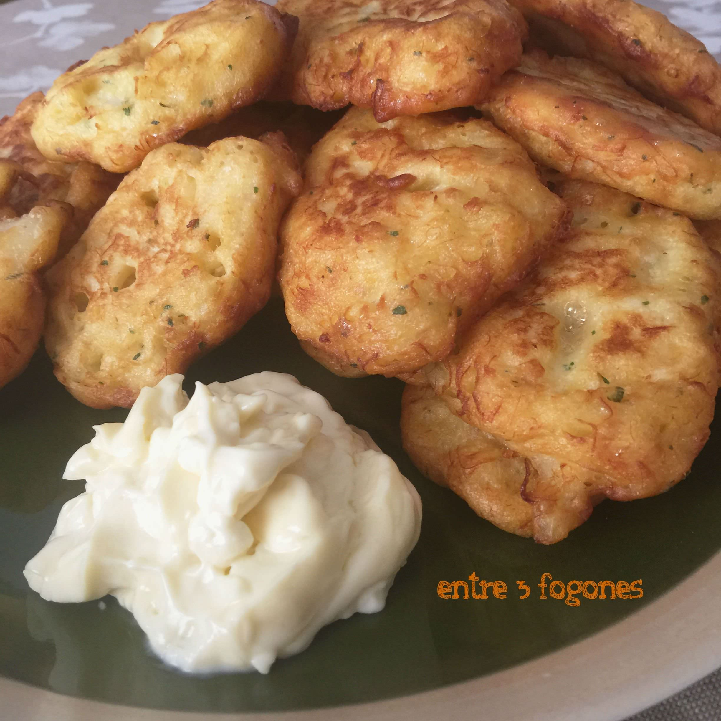 Photo of Buñuelos de Bacalao con Masa Choux