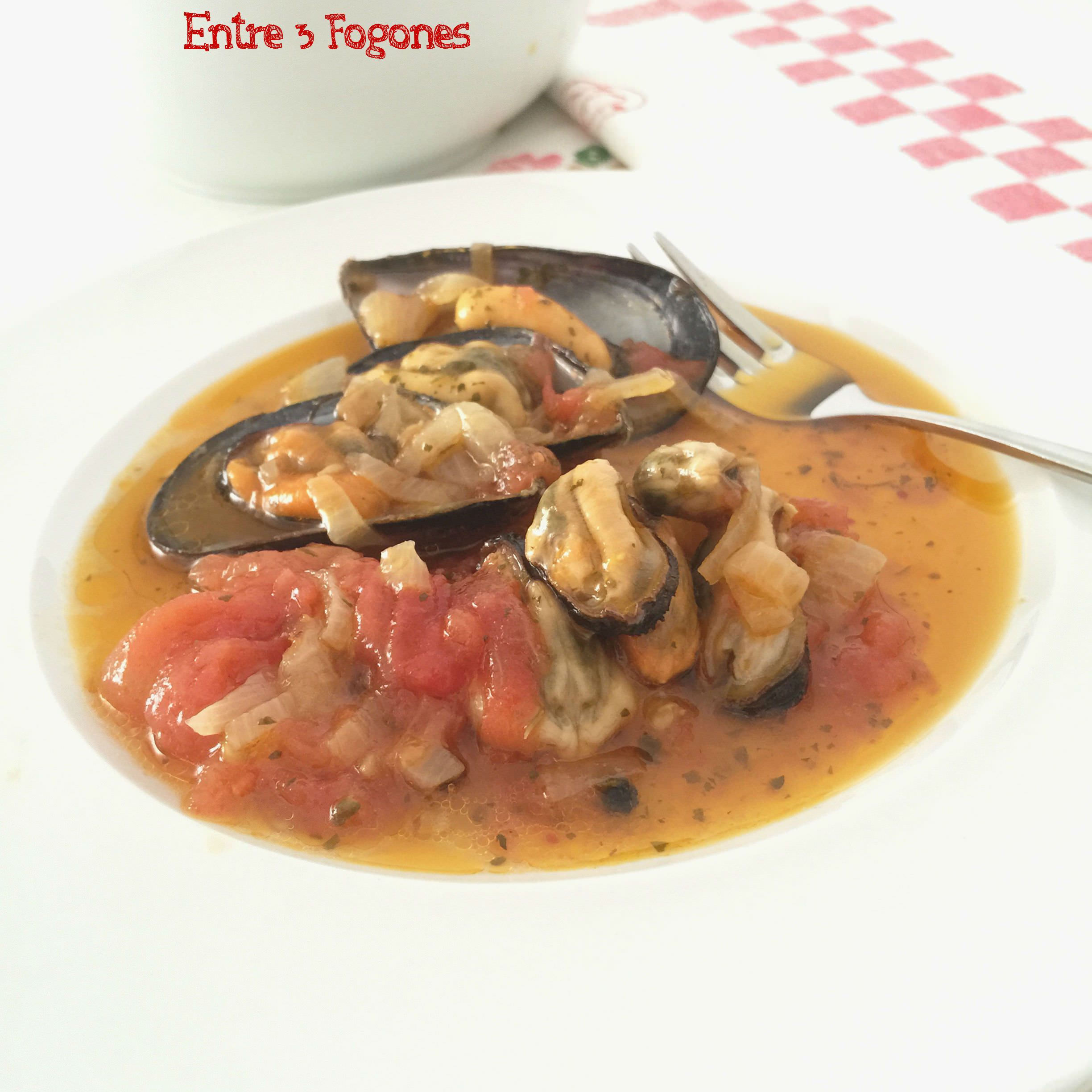 Photo of Mejillones en Escabeche Suave con Tomate