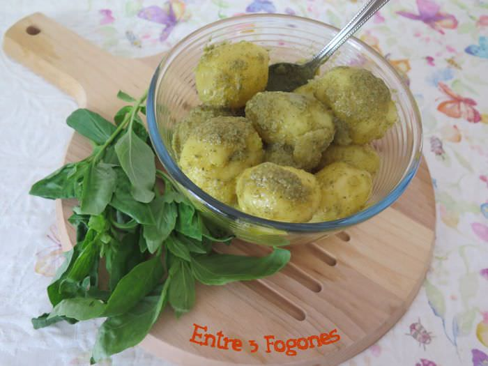 Photo of Guarnición de Patatas al Vapor en Salsa Verde