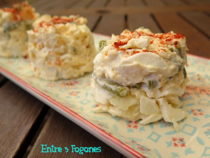 Photo of Ensaladilla de Merluza con Judías Verdes
