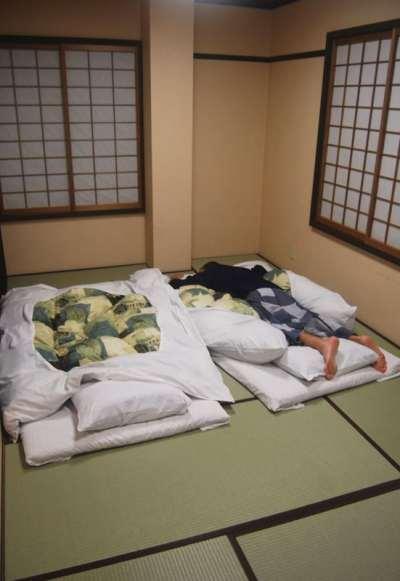 Habitación del Ryokan Yamakyu
