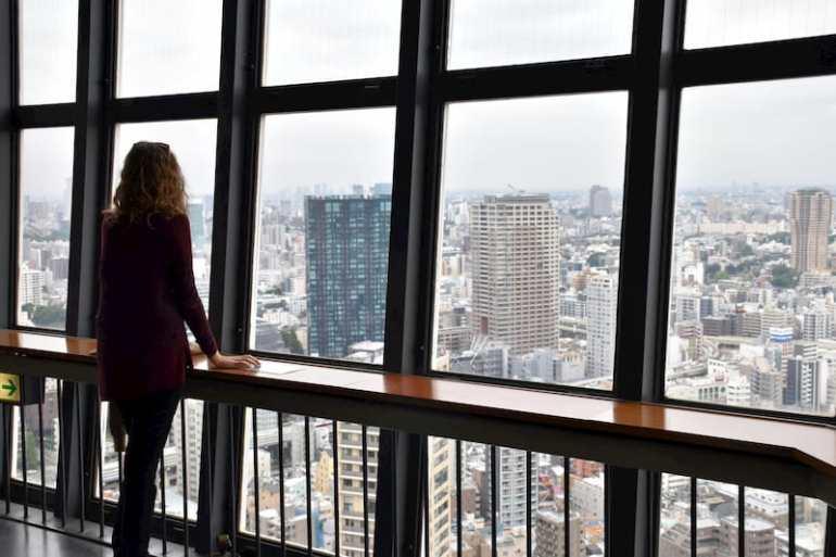 Mirador de la Tokyo Tower