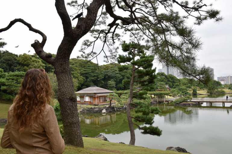 Hama Rikyu Gardens.