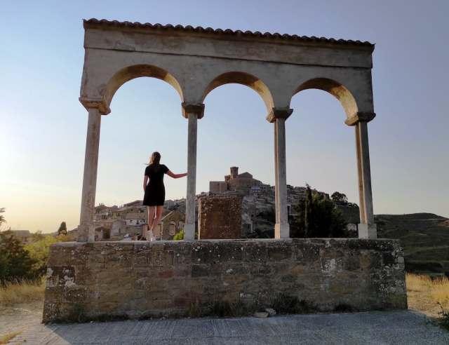 Ujué desde la ermita de San Miguel