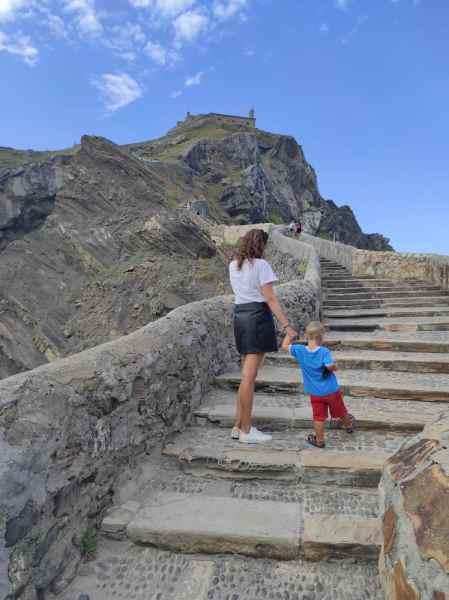Las escaleras de San Juan de Gaztelugatxe
