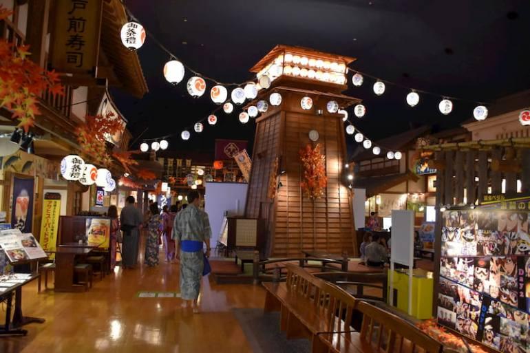 Oedo Onsen Monogatari en Tokio