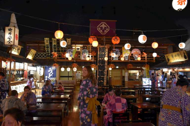 Onsen en Tokio
