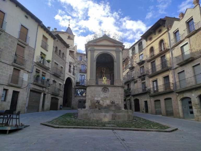 Plaza San Juan de Solsona