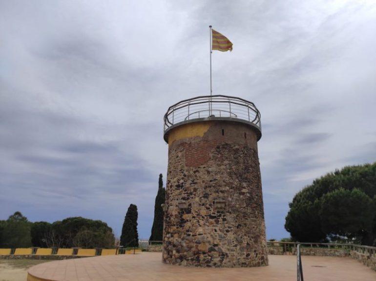 Parque del Castillo de Malgrat de Mar