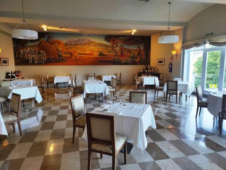 Restaurante del Parador de Vic Sau