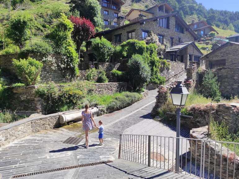 El pueblo de Pals en Andorra