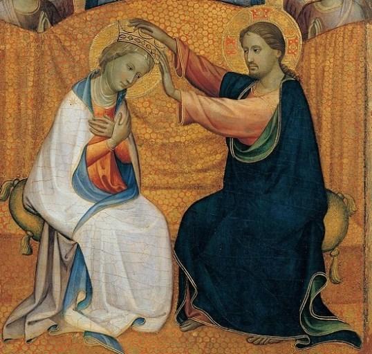 Coroação da Virgem / Coronation of Virgin Mary, Starnina Gherardo, 1404, Italy