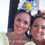 Noche clarinera vestida por Cecilia Alcántara. Dos nuevas batas de flamenca.