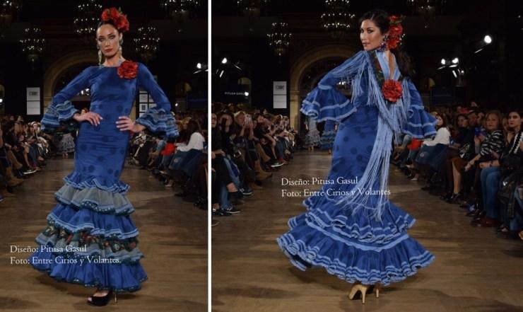 3bf0125c9 trajes de flamenca azules Archives - Entre cirios y volantes