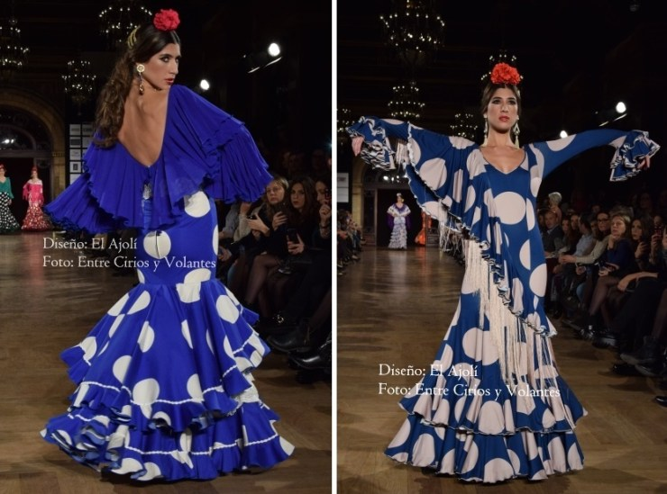 trajes de flamenca 2016 el ajoli