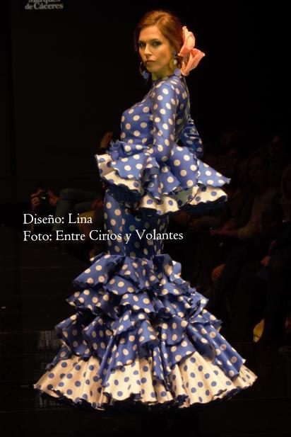 trajes de flamenca 2016 lina