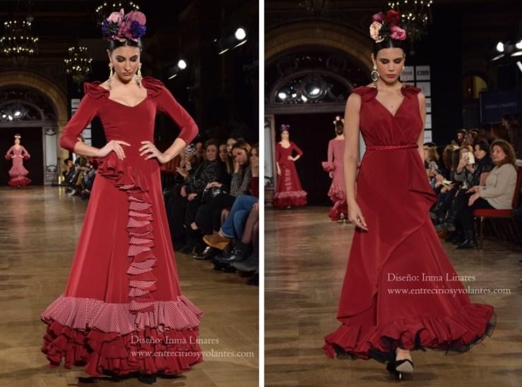 trajes de flamenca 2016 inma linares