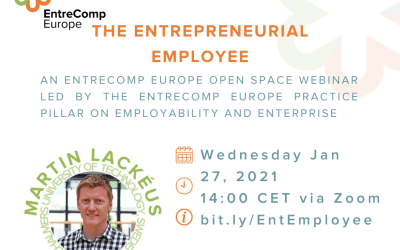 The Entrepreneurial Employee – Webinar with Martin Lackéus