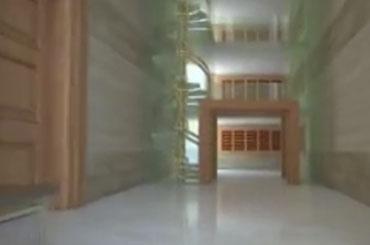 planos arquitectónicos del Tercer Templo