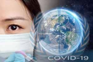 orando por el coronavirus