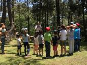 Diversas actividades llevadas a cabo con niños y niñas, gracias a la Ecorifa. (Foto: ARNPG)