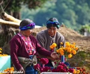 El respeto a los difuntos es parte vital del Festival. (Foto: R.Estrada)