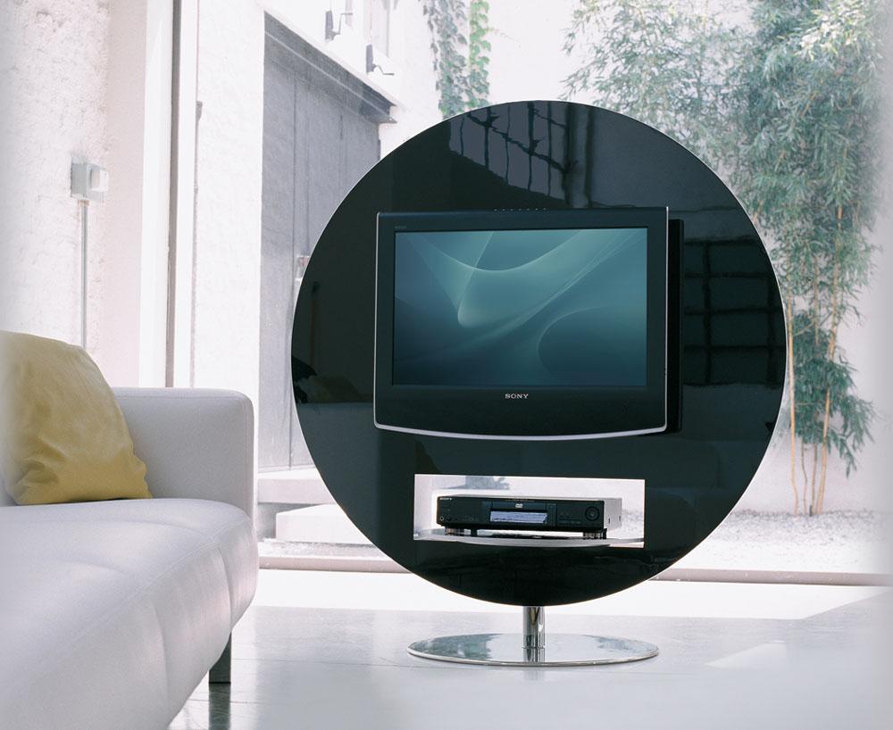 meuble tv pivotant 360