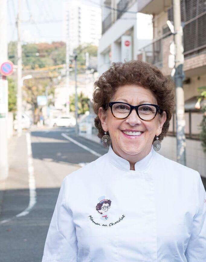 Catherine, cheffe patissiere au Japon