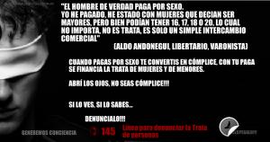 banner anti aldo andonegui