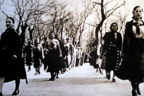 mujeres fascistas